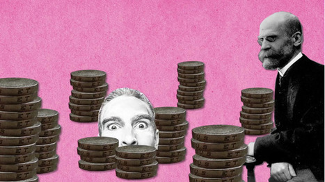 Perché i soldi non fanno la felicità, secondo Émile Durkheim   MigrArti   Scoop.it