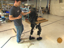 The next step in bionics - CBS News: Exos, Tibion bionic leg | Exoskeleton Systems | Scoop.it