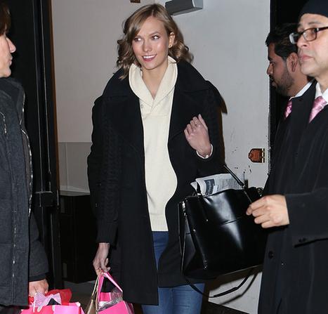 Karlie Kloss Totes Coach to a Victoria's Secret Party - PurseBlog   Retail   Scoop.it