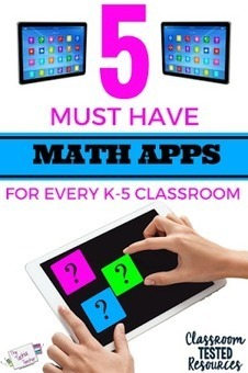 5 Must Have MATH Apps for Every K-5 Classroom | Daring Gadgets, QR Codes, Apps, Tools, & Displays | Scoop.it