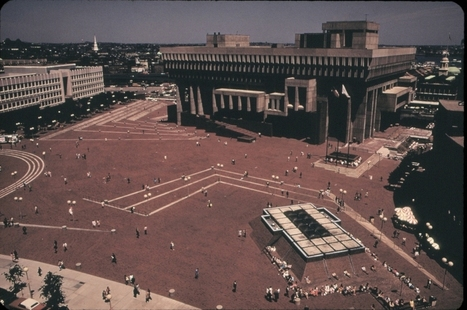Tracings Of The Future: Historic Boston City Hall Drawings Chart The Rise Of Brutalist Icon | The Architecture of the City | Scoop.it