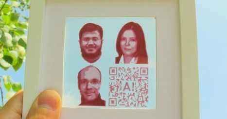 """Futurism : """"New inkjet-printed solar cells let you turn your pictures into power sources 