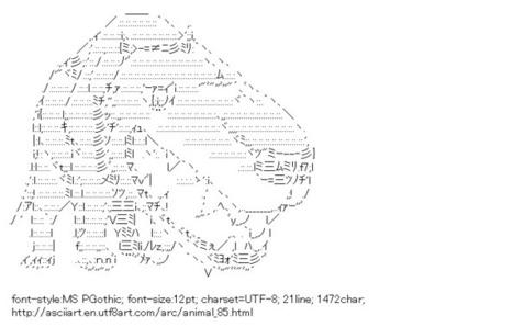 Cat & Wolf | ASCII Art | Scoop.it