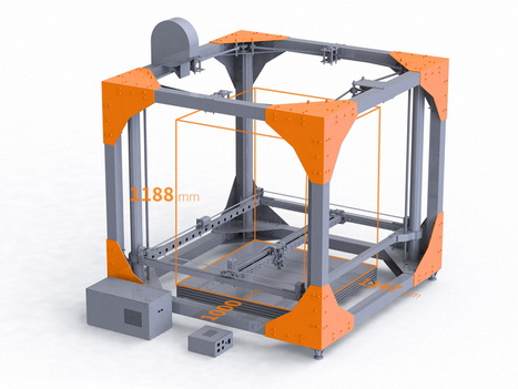 This gigantic 3-D printer can create an entire table | Technoculture | Scoop.it