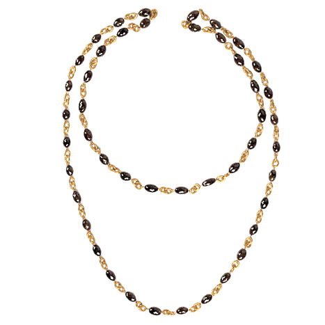 18k Gold Diamond Beads Necklace | Wholesale Jewelry | GemcoDesigns | Handmade Crafts | Scoop.it