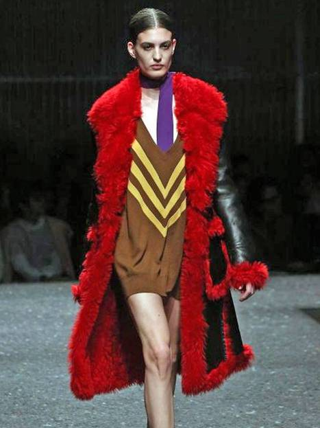 Milan Fashion Week: Off-kilter Prada repulses and attracts in equal measure - The Independent | Fashion | Scoop.it