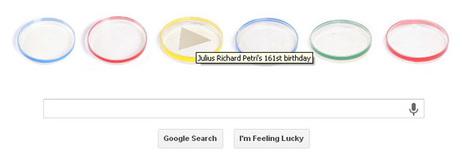 Google celebrates Julius Richard Petri's 161st birthday | RtoZ.org - Latest News | doodles 2013 | Scoop.it