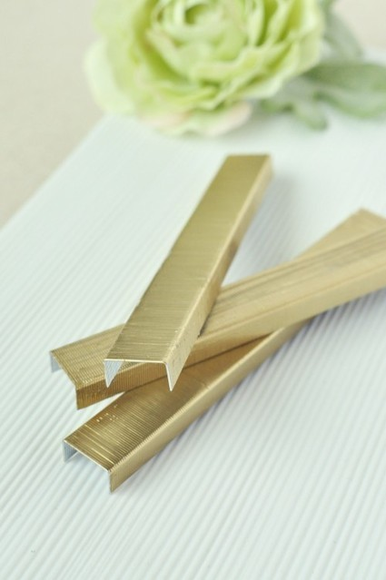 Twig & Thistle » DIY Gold Staples in a Pinch! | DIY crafts and more | Scoop.it