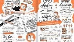 Sketchnotes: Wie du Gedanken und Vorträge grafisch festhältst [#rp15] | lernewie | Scoop.it