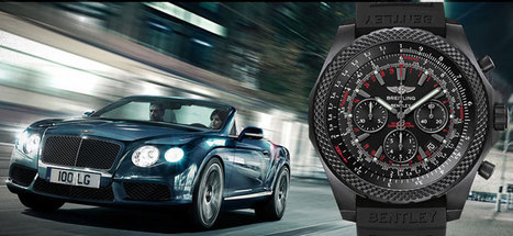 Breitling and Bentley Celebrate 10 Years Together with Anniversary Watch | Mr Online | Scoop.it