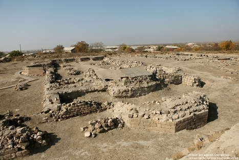 Archeologists discover ancient structures in Dvin excavations - Armenpress.am | Ancient Cities | Scoop.it