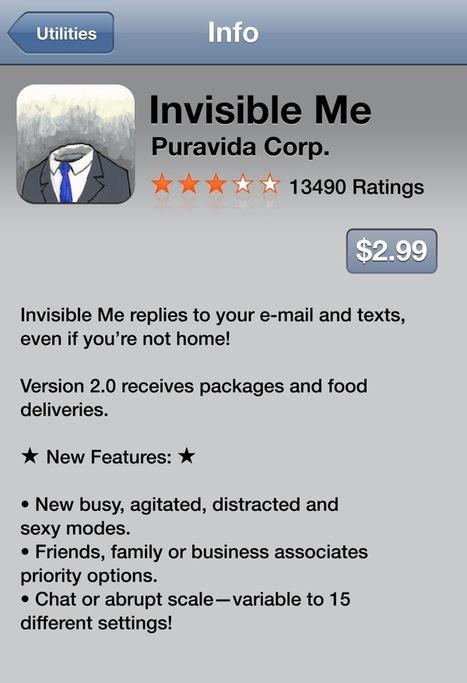 David Byrne's fake iPhone apps | New Digital Media | Scoop.it