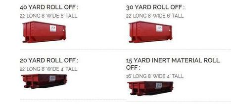 Mesa Rolloff Dumpsters Residential and Commercial landscaping | Dumpster Rentals | Scoop.it