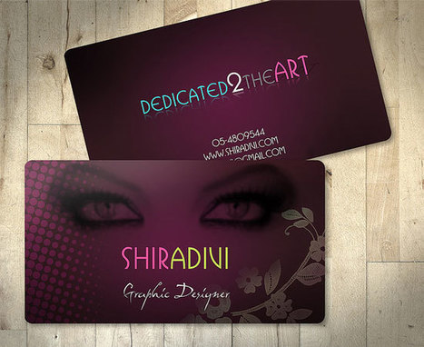 10 Most Attractive Business Card Designs for Inspiration | DJDESIGNERLAB | Aries-Graphic Design & Internet Marketing | Scoop.it