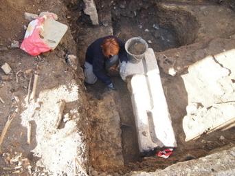 Un mur gallo-romain découvert à l'école Robin | Tourisme en pays viennois | Scoop.it