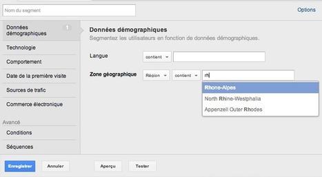 Google Analytics: nouvelle segmentation avec visites et cohortes | Le journal  e-marketing | Scoop.it