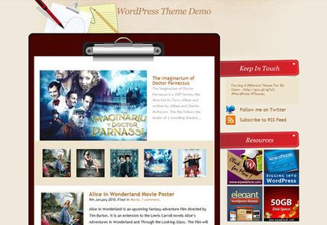 25 free wordpress theme, WP theme for designer | Psdblast | Wordpress themes plugin tips | Scoop.it