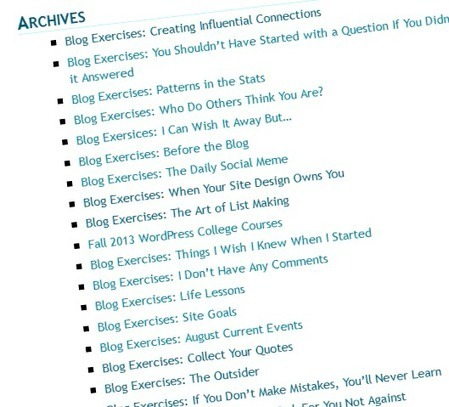 Blog Exercises: Start Here Guides | Active Lifestyles | Scoop.it