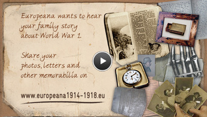 Europeana 1914-1918 - World War One in pictures, letters and memories | Transmedia + Storyuniverse | Scoop.it