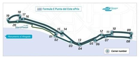 FE: Punta Del este devoile son tracé | Formule 1 et Formule E | Punta el Este URUGUAY et les autres plages | Scoop.it