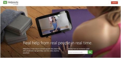 Google se involucra en la educación a distancia con el proyecto Helpouts   Innovación docente universidad   Scoop.it