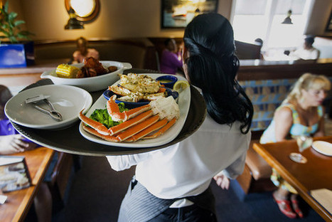 Tips Don't Add Up for Most Waiters and Waitresses - Wall Street Journal | The POS Maven Says... | Scoop.it