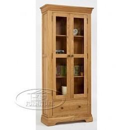 Tủ ly gỗ sồi EUF080   nội thất châu âu   EU Furniture Việt Nam   Scoop.it