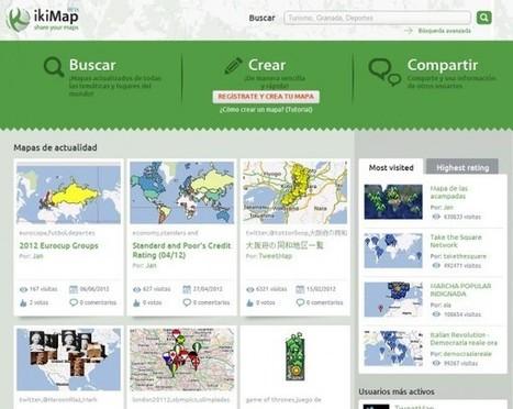 Nuevo ikiMap, con más herramientas para simplificar la creación y publicación de mapas | Cajón de sastre Web 2.0 | Scoop.it