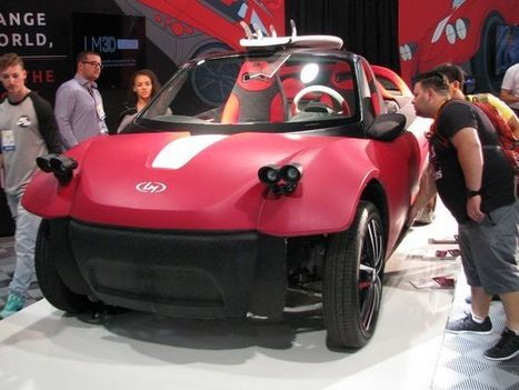 3D-printed car could hit streets next year | 3D Printing and Innovative Technology | Scoop.it