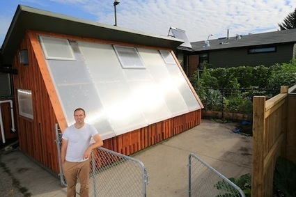 7 Tips for Designing A Passive Solar Greenhouse - Verge Permaculture | Permaculture and Green Living | Scoop.it