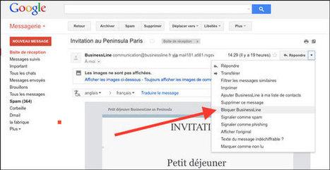 Comment - vraiment - bloquer un contact sous Gmail ? | netnavig | Scoop.it