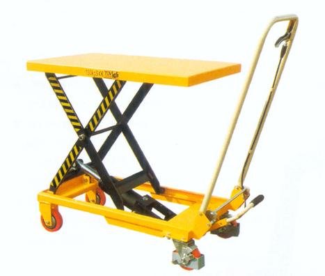 Manulevage - utilisation d'une table élévatrice | Matériel de manutention | Scoop.it