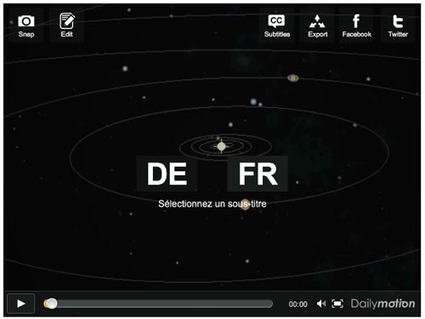 Dailymotion : comment sous-titrer une vidéo ? | Time to Learn | Scoop.it
