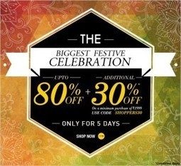 Jabong- Diwali Special Offers | Jabong Sale | Jabong Sale and Coupon Codes | Scoop.it