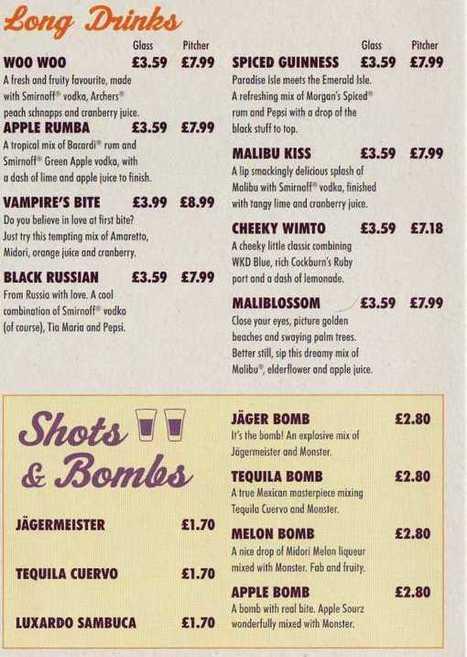 Horse Shoe Bar - Drinks   Alcoholic beverages KM   Scoop.it