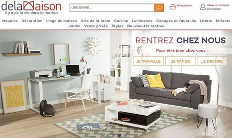 Delamaison.fr : plus qu'un site e-commerce,... | Le monde du web | Scoop.it