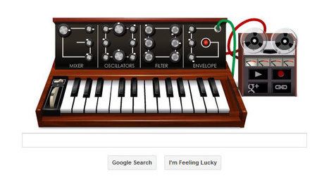 Google Outdoes Itself With Moog Synthesizer Doodle (Play It Here) | Strange days indeed... | Scoop.it