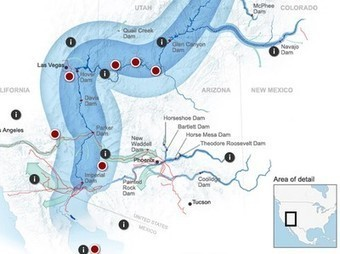 Colorado River Map -- National Geographic | Walkerteach Geo | Scoop.it