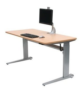 Ergonomic Standing Desk Electric Height Adjustable Desk 'Cecil' | How to Have the Greatest Office Ever | Scoop.it
