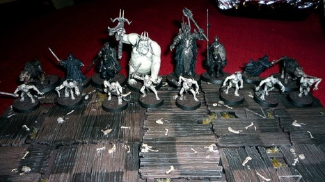Handmade Middle-earth chess board was an epic Christmas ... | CHESS - AJEDREZ | Scoop.it