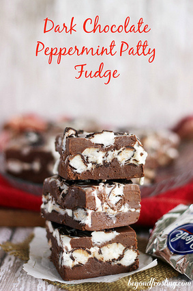 #Recipe / Dark Chocolate Peppermint Patty Fudge | Hospitality | Scoop.it