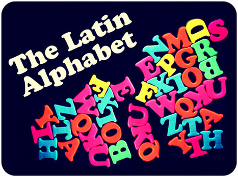 The Latin Alphabet - blog.palabea.com | Palabea - The speaking World | Scoop.it