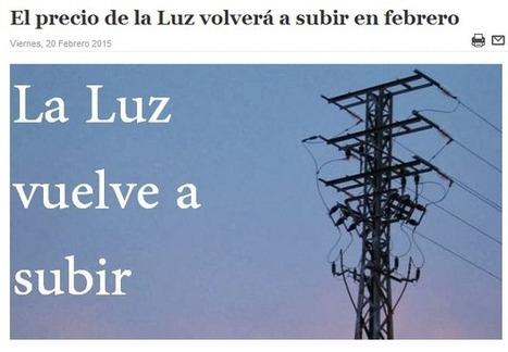 @CNA_ALTERNEWS: Hay que echar al PP aunque SOLO sea para poder PAGAR la LUZ - SUBE de nuevo el RECIBO en Febrero | CNA - ALTERNEWS | Scoop.it