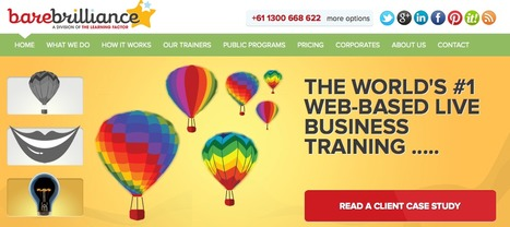 Bare Brilliance | The World's Best Business Training. Online And With Live Facilitators. | Virtual Training | Scoop.it