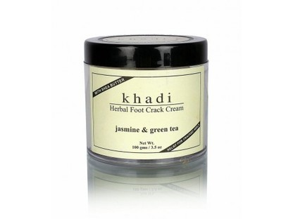 Buy Khadi Jasmine & Green Tea Foot Crack Cream Online | Khadi Products | Scoop.it