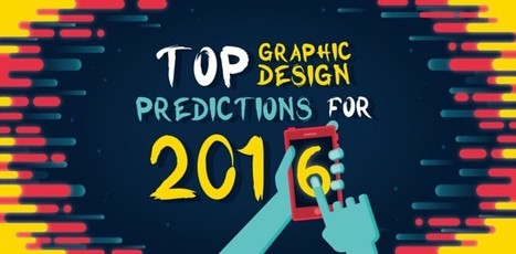 16 Web & Graphic Design Trends To Watch In 2016 | Designing Learnovations | Scoop.it