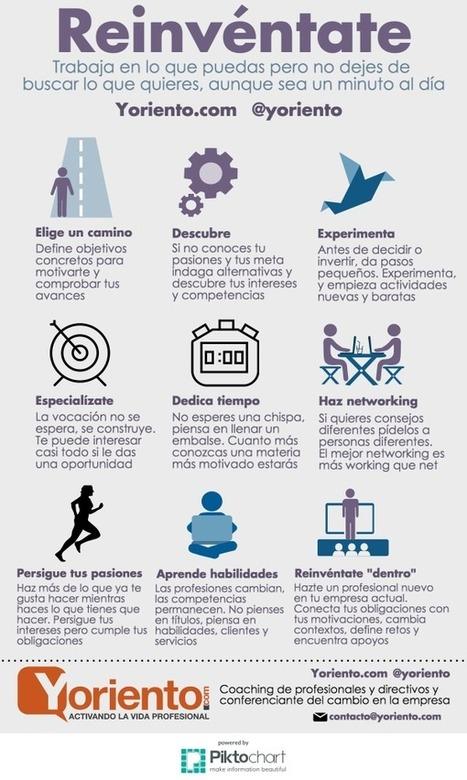9 consejos para Reinventarte Profesionalmente #infografia #infographic #empleo | Empleo para ingenieros | Scoop.it