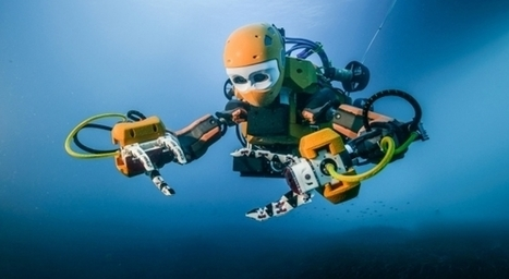 Un robot humanoïde révolutionnaire à l'assaut des fonds marins | Innovation - Transfert de technologies | Scoop.it