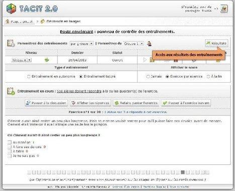 Tacit : Un outil pour savoir mieux lire | Education & Numérique | Scoop.it