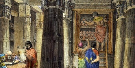 La Biblioteca de Alejandría, la destrucción del gran centro del saber de la Antigüedad   LVDVS CHIRONIS 3.0   Scoop.it